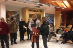 Backstage Coro Cima Tosa Bolbeno Concerto Natale 2012