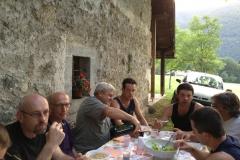 Coro Cima Tosa Bolbeno Cena Giugno 2012